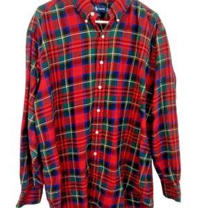 Ralph Lauren Large Blake Plaid Button Down Shirt